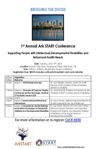 Bridging the Divide-ArkSTART Conference Flyer-FINAL