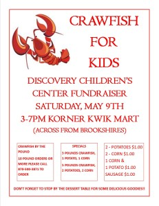 CRAWFISH FUNDRAISER
