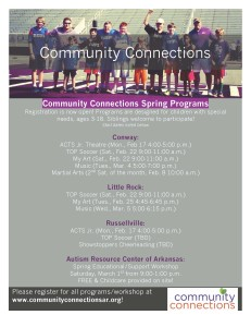 Community Connection Spring Programs