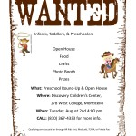 Wanted Poster Invite