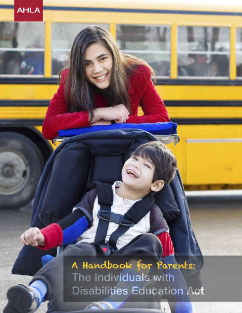 Handbook for Parents Individuals with Disabilities Education Act